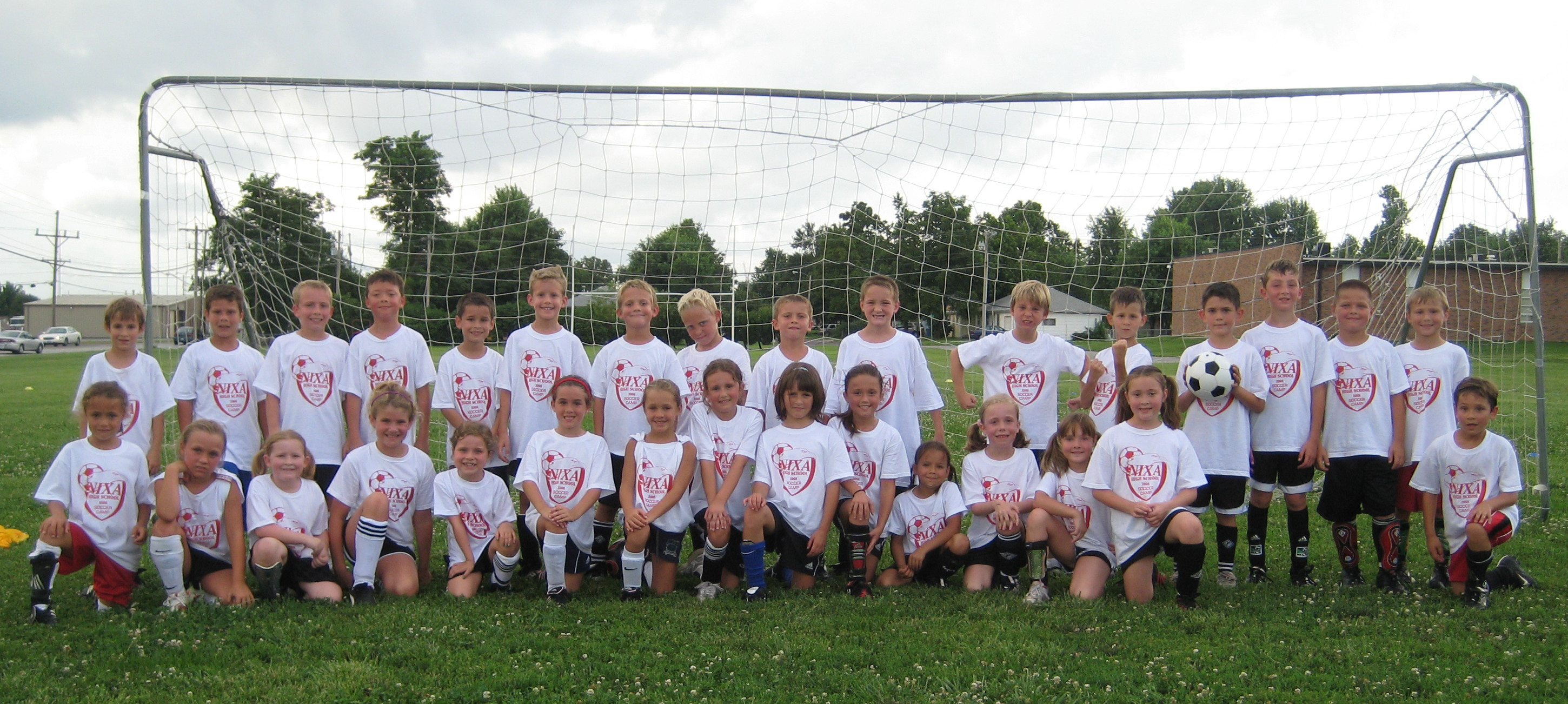 2nd and 3rd Graders (taken at the end of camp!)