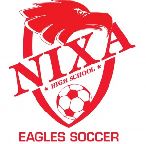 Nixa High School Eagles Soccer 2009 red
